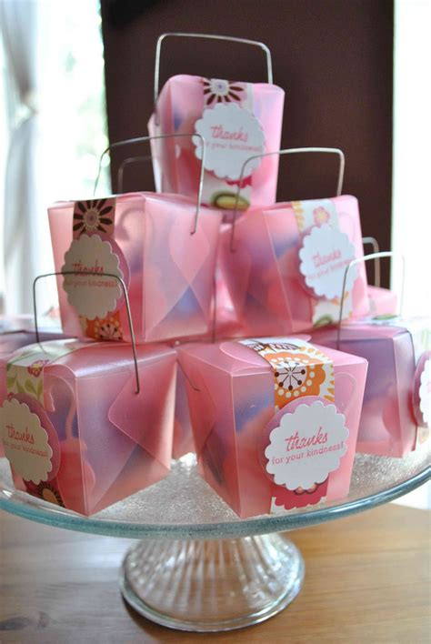 clearlytangled handmade baby shower favors