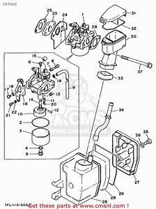 Yamaha Ef1000 7fl1 Generator Intake