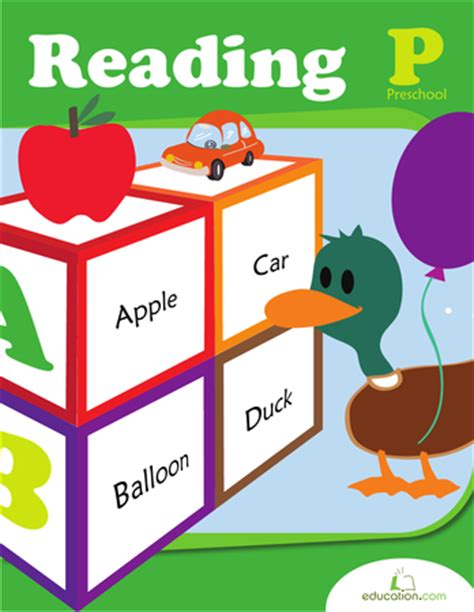 preschool reading workbook education 118 | preschool reading workbook preview 0