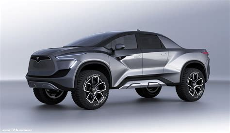 Tesla Truck Could Look Like This?