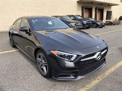 We analyze millions of used cars daily. New 2020 Mercedes-Benz CLS 450 4MATIC Coupe   Graphite Grey Metallic 20-807