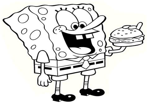 gambar spongebob anak tk