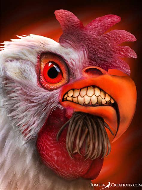 angry chicken  zzzjona  deviantart