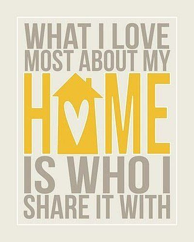 who i share my home with quote picture