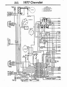 1977 Chevrolet Wiring Diagram