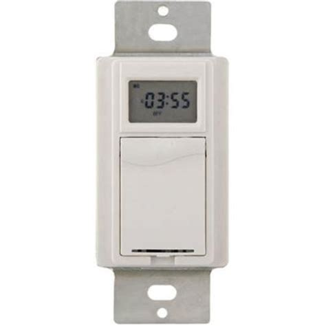 christmas light timer home depot westek 277 volt hd digital in wall timer white tmdw40