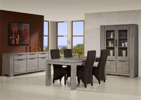 avis cuisine alinea salle à manger contemporaine chêne gris iberia salle à