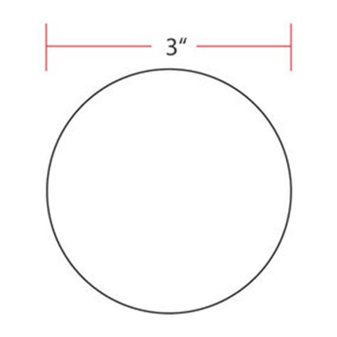 3 Inch Diameter Circle 5 Inch Circle Template Printable Printable 360 Degree