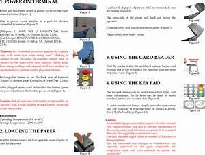 Xac Automation Fd400ticdma Portable Pos Terminal User