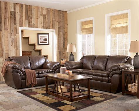 living room elegant ashley leather sectional sofa for