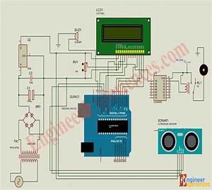 Ultrasonic Sensor Based Water Level Controller