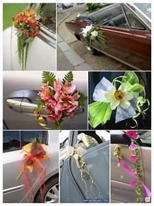 Decoration Voiture Mariage : decoration voiture mariage poignee raphia champetre conseils sur la voiture de mariage sur http ~ Preciouscoupons.com Idées de Décoration