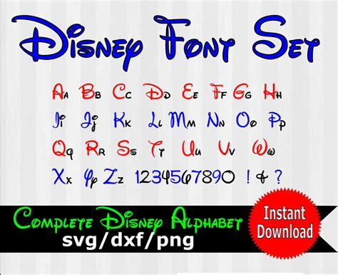 But learning all about the cricut isn't as easy as it should be. Disney font svg Disney text Disney font design by 5StarClipart