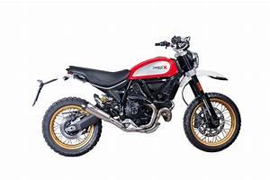 Ducati Scrambler 800 : ducati scrambler 800 desert sled titanium tri cone qd exhaust ~ Medecine-chirurgie-esthetiques.com Avis de Voitures