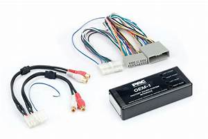 Add An Aftermarket Amplifier Harness For Select Honda Pac