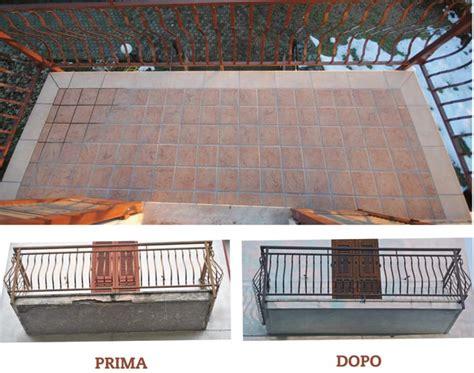 ristrutturare terrazzo ristrutturare balcone fai da te cemento armato precompresso
