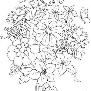 roses flower bouquet coloring page roses flower bouquet coloring page - Coloring Pages Roses A Vase