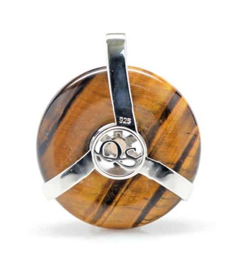 Golden Tiger Eye Citrine Sol Amulet