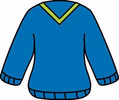 Sweater Clipart Clip Jumper Neck Sweatshirt Cliparts