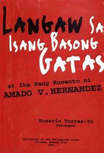Langaw sa Isang Basong Gatas at Iba Pang Kuwento by Amado