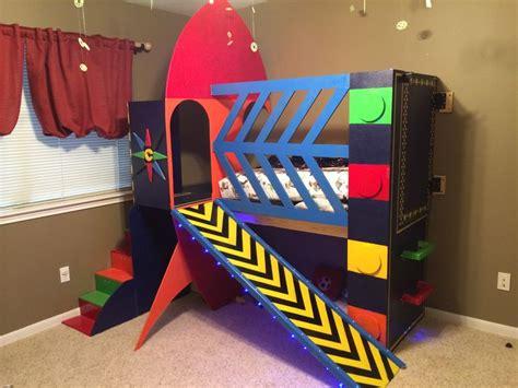 Spaceship Toddler Bed by Rocket Ship Toddler Bed Space Rocketship Theme Toddler