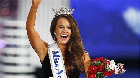 Miss North Dakota Wins Miss America 2018 — Cara Mund Takes ...
