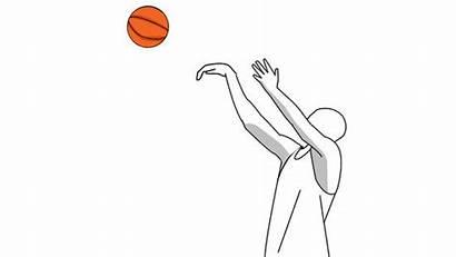 Shooting Guy Hoops Clipart Basketball Shoot Wikihow
