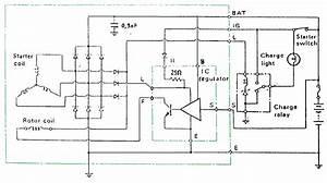 Otomotif  Cara Kerja Sistem Pengisian Dengan Ic Regulator Tipe B