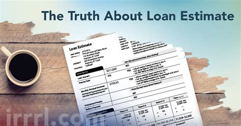 The Truth About Loan Estimate