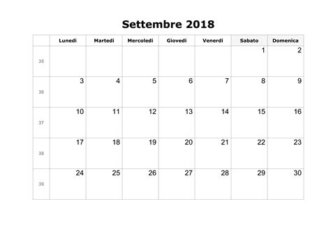 calendario luglio 2019 da stare pdf calendario settembre 2018