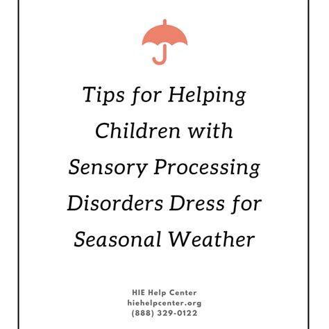 kids  sensory issues  dressed hie