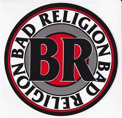 Bad Religion Sticker Stickers Decals Br Circular