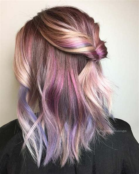unique hair color ideas   stayglam