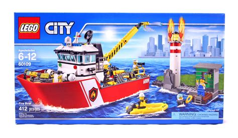 Lego Fire Truck And Boat by Fire Boat Lego Set 60109 1 Nisb Building Sets Gt City