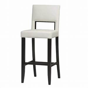 "30"" High Bar Stool in Off-White - 14054WHT-01-KD-U"