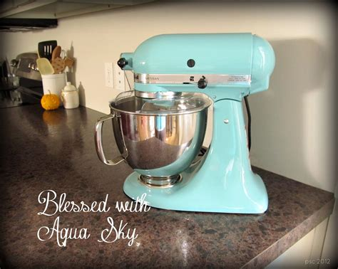 Kitchenaid Mixer Aqua Sky by Some Creativity Blessed With Aqua Sky Healthy