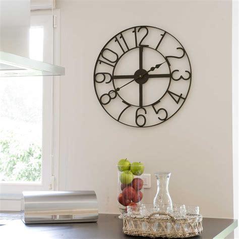 horloge de cuisine moderne enchanteur grande horloge murale design galerie et grande