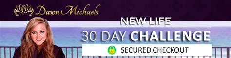 New Life 30 Day Challenge Checkout Paypal  Law Of Attraction
