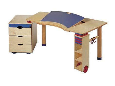 bureau haba haba bureau kontiki plateau inclinable en couleur avec