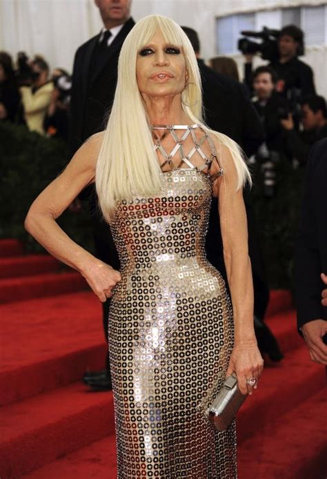 donatella versace dress amazing  style icons