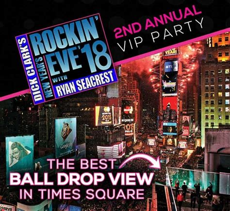years eve  marriott marquis  york times square nye