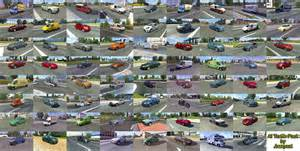 mercedes e class 500 ai traffic pack by jazzycat v2 2 ets 2 mods