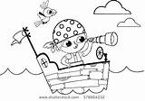 Flag Pirate Coloring Getdrawings Printable Pages sketch template