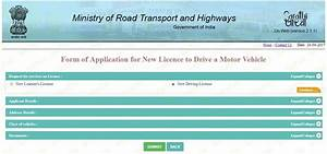 how to apply for learner driving licence online in delhi With documents for driving license online