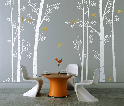 white wall decals  grasscloth wallpaper