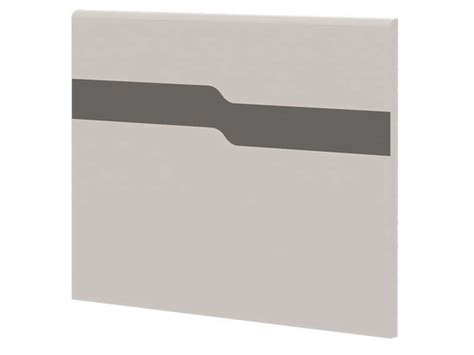 chambre moby tête de lit 90 cm moby coloris blanc gris vente de tête