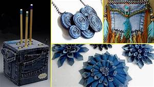 36 Creative DIY Ways HOW TO REUSE OLD JEANS - Recycled