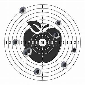 Shooting Silhouette Target Stock Illustrations  U2013 2 019