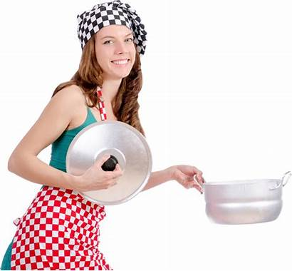 Cooking Woman Layers Transparent Pluspng
