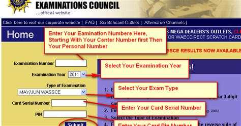 Waec scratch card dealers